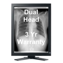 Dual Head 3MP EIZO RadiForce LCD Monochrome Thumbnail